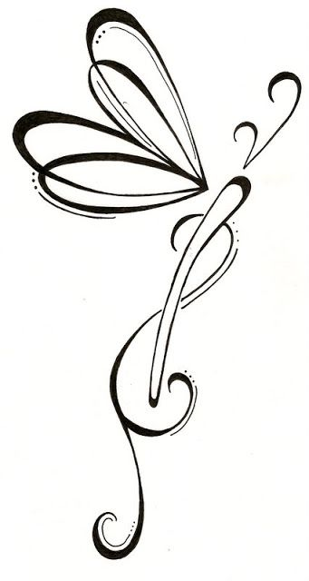 Symbols Of Hope And Strength Offside Butterfly Tattoo For Family