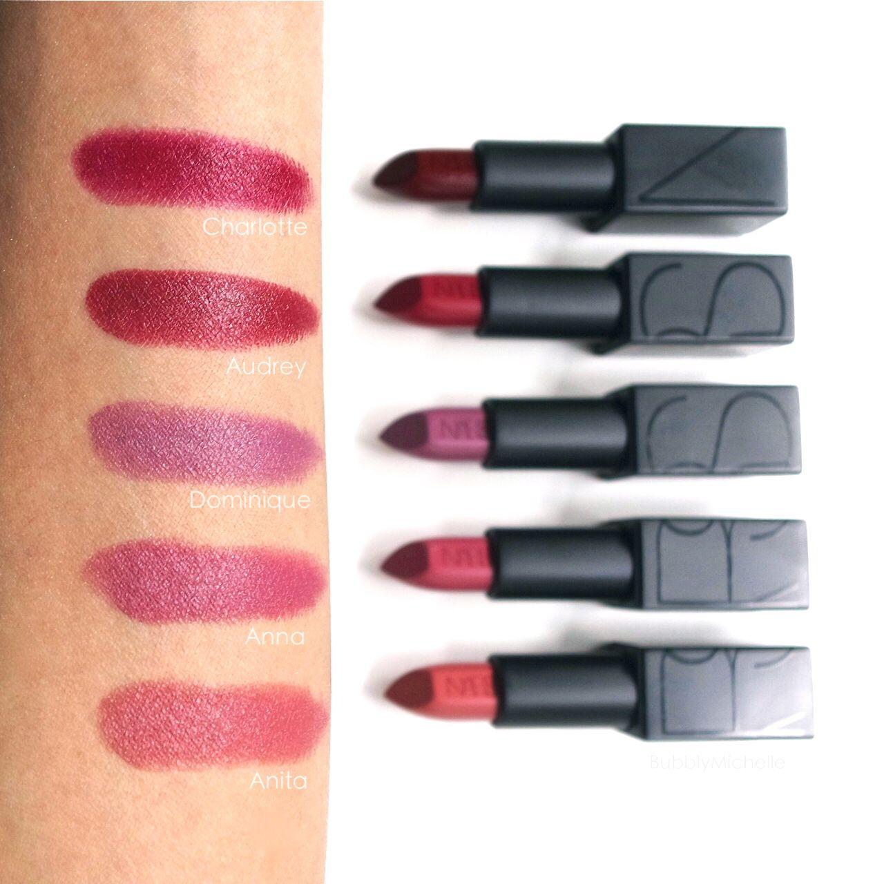 Nars Audacious Lipstick In Charlotte Skin And Make Up Nars