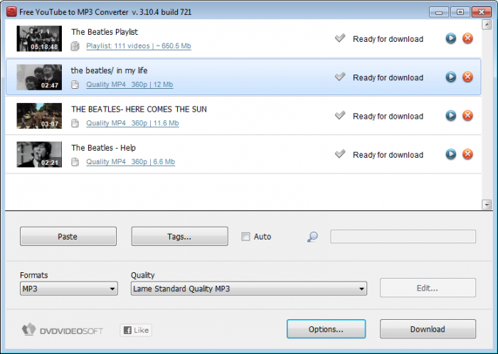 Free YouTube to MP3 Converter Offline Installer Download