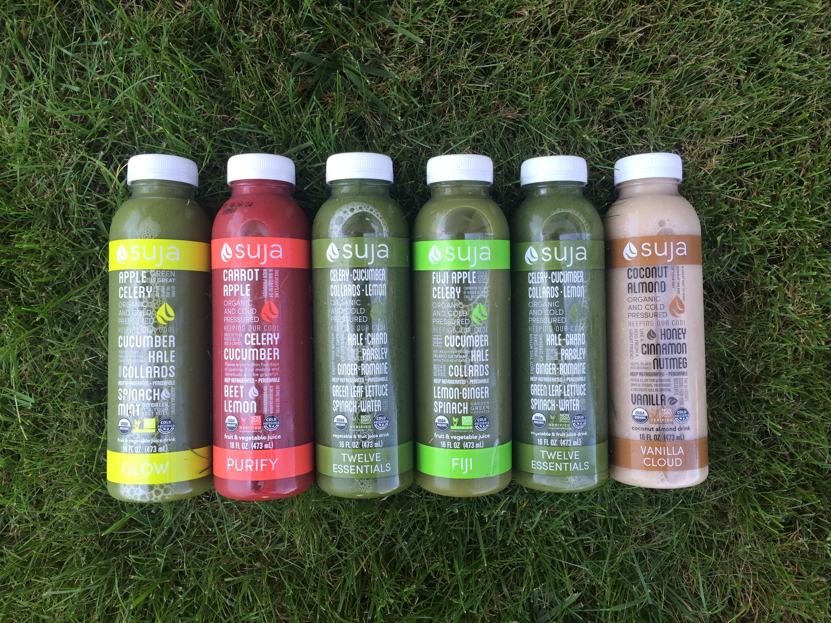 Our new Core Fresh Start was designed for green juice lovers only! Lower in sugar and calories than our Original Fresh Start but just as tasty :)