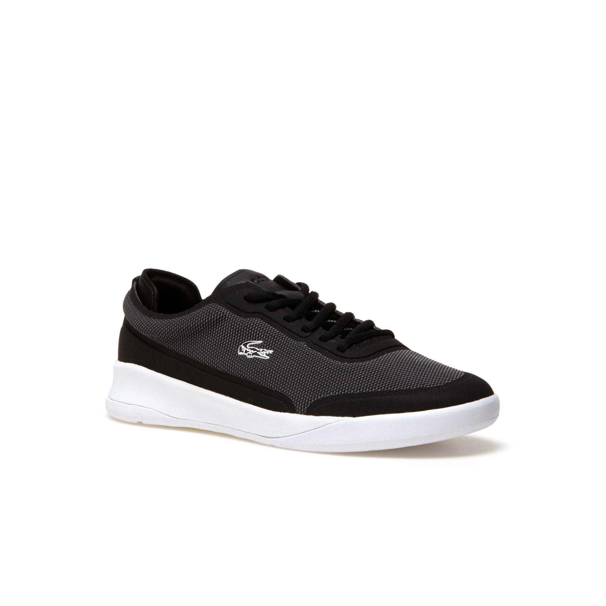 5f005dd64f38c LACOSTE Men s LT Spirit Elite Bicolor Piqué Sneakers - BLACK.  lacoste   shoes