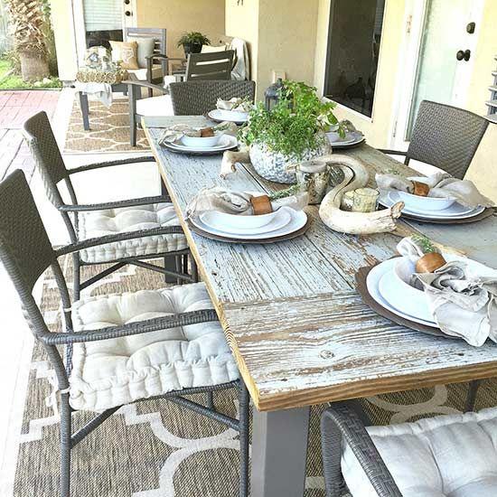 Diy Patio Furniture Ideas To Transform Your Outdoor Space Rustic