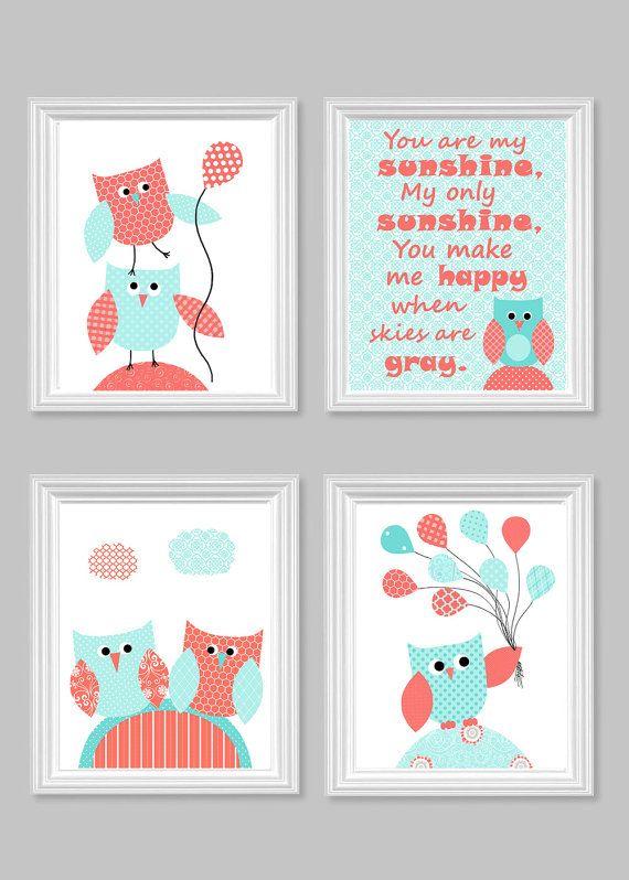Owl Nursery Art Baby Decor You Are My By Sweetpeanurseryart