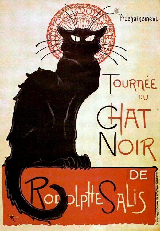 Tournée du Chat Noir | Toulouse Lautrec