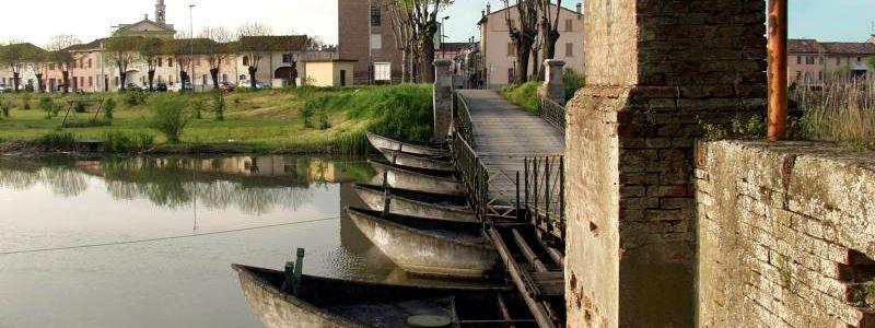 Commessaggio, ponte di barche