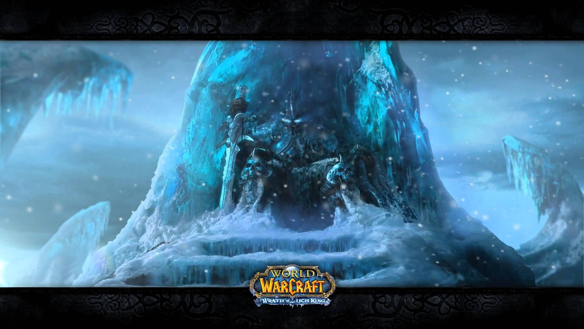Found This Cool Animated Lich King Wallpaper Worldofwarcraft