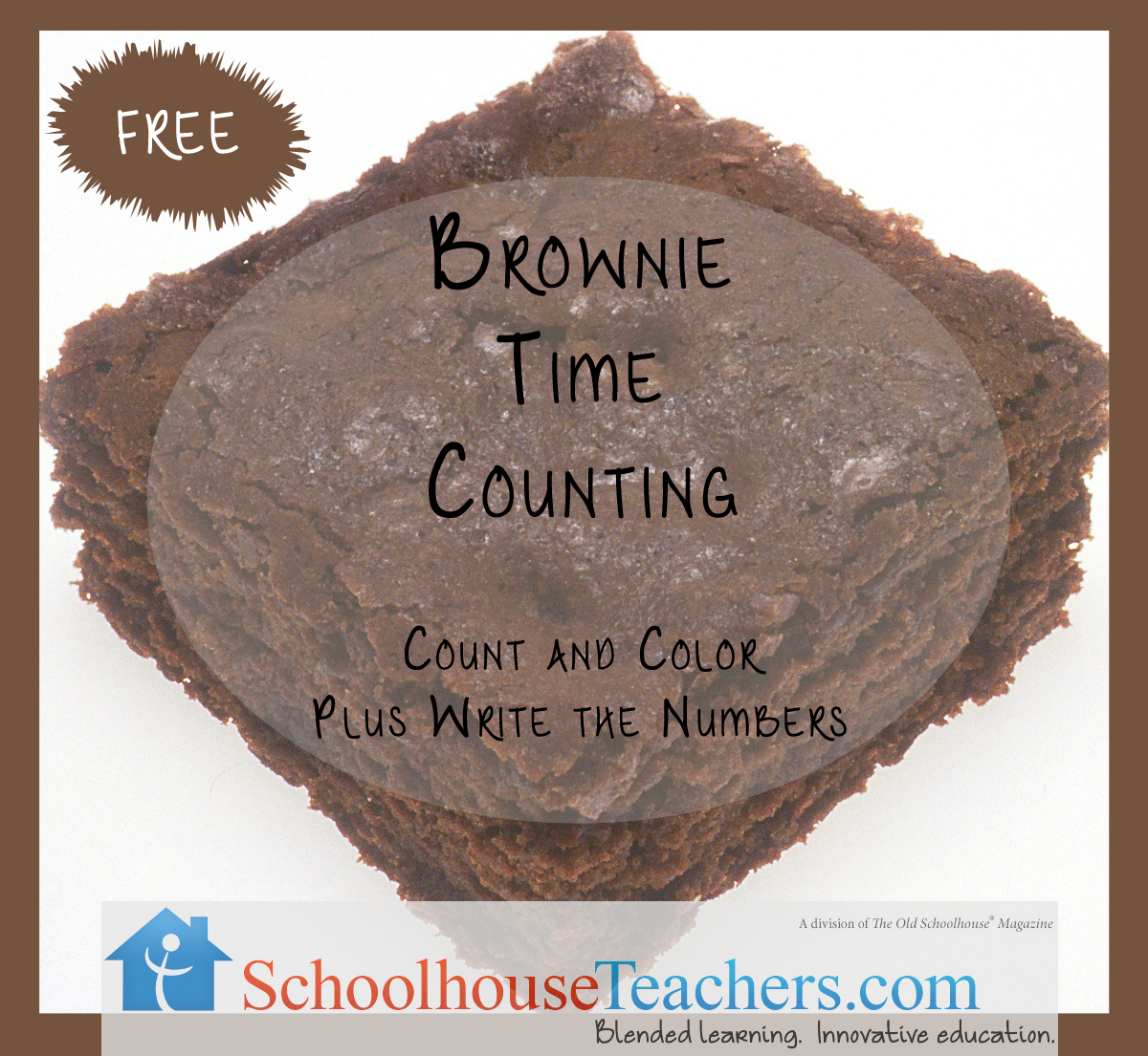 Brownie Time Counting Practice For Preschoolers Check Out