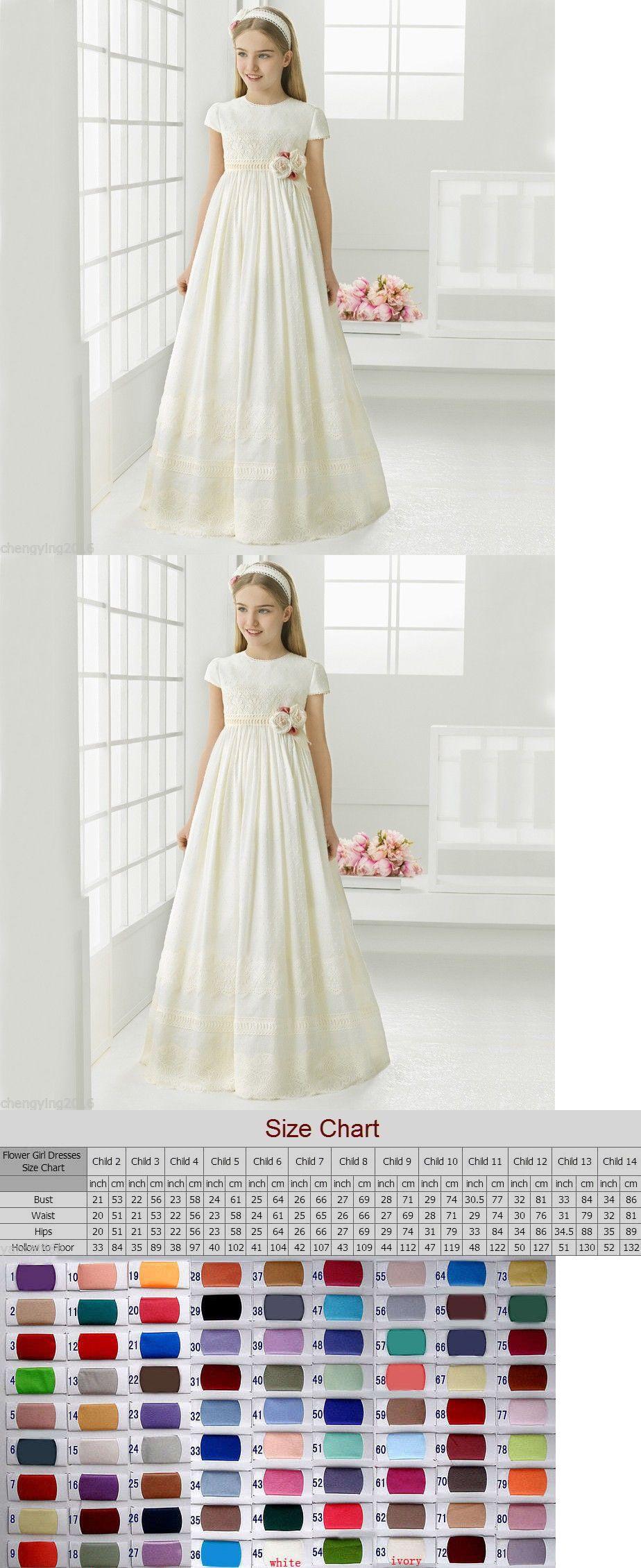 Dresses flower girl dress communion party prom princess