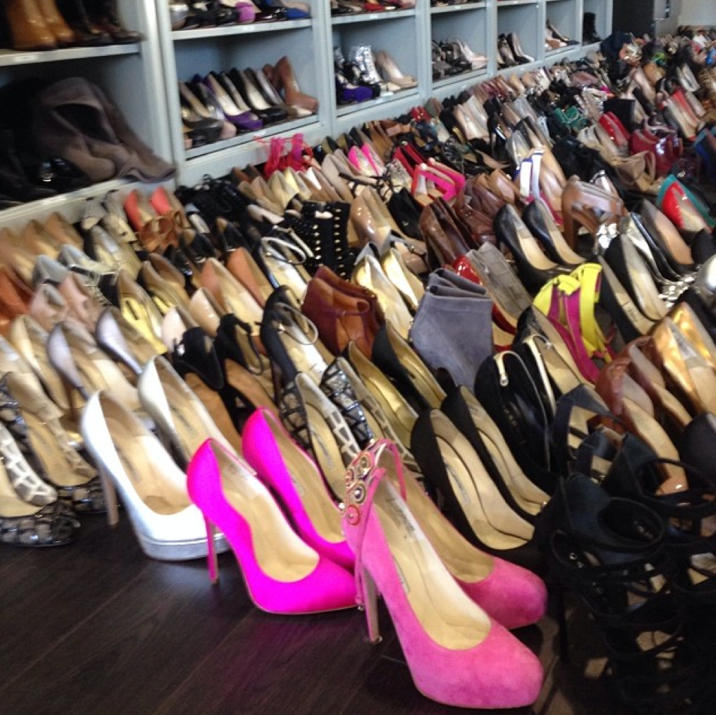 Rachel Zoe's insane shoe collection #BrianAtwood