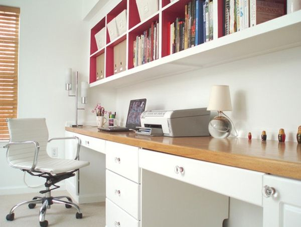 Office Room Design 28 white small home office ideas | *office / study room
