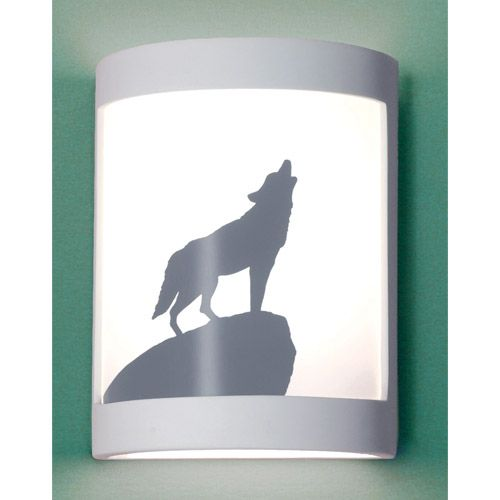 Lone Wolf Colonial Pewter Wall Sconce In Colonial Pewter Iron Wall Sconces Copper Wall Sconce Bronze Wall Sconce