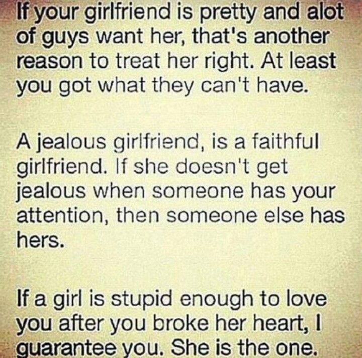 Says It Perfect Yet Guys Still Yell At You When You Get Jealous