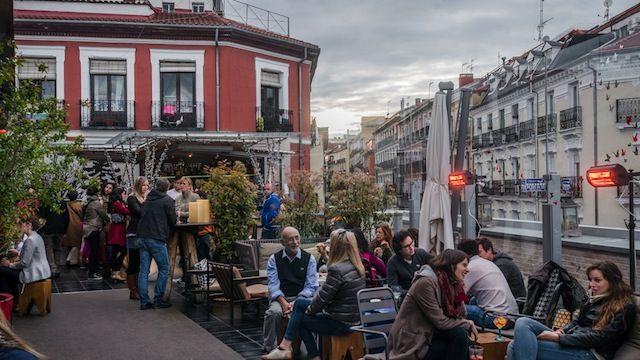 Terraza Del Mercado De San Antón Calle Augusto Figueroa 24