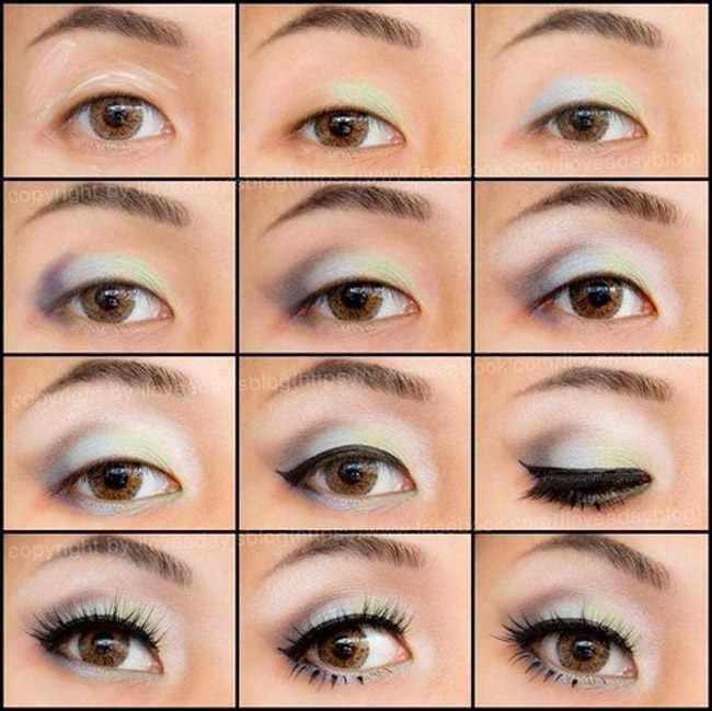 Como maquillar unos ojos saltones y grandes maquillaje for Como maquillar ojos ahumados paso a paso