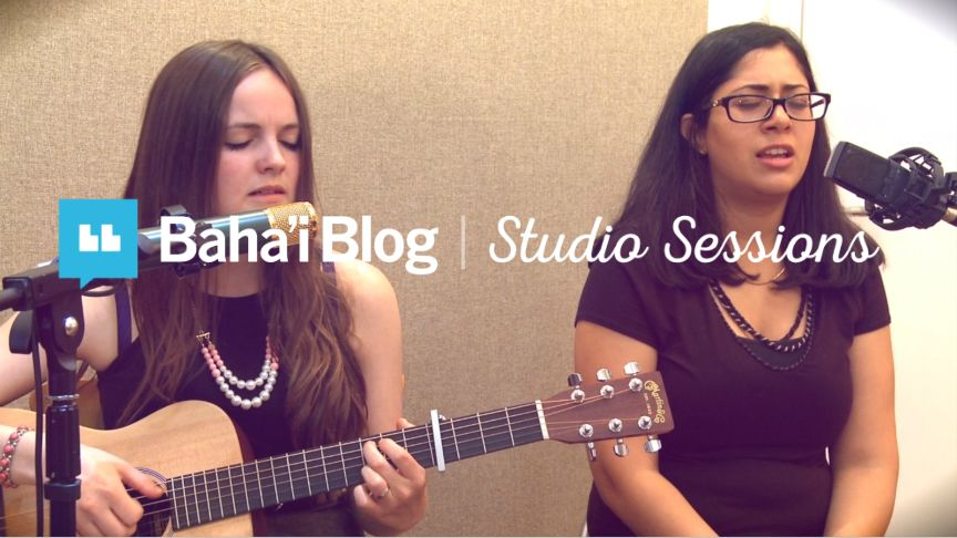 """""""O Lord Provide"""" by Bonnie & Noor Baha'i Blog's """"Studio Sessions"""" is an initiative where we invite Baha'is from around the world to come into a studio and share the Baha'i Writings put to m"""