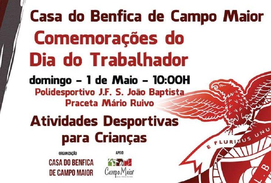 Campomaiornews: Casa do Benfica de Campo Maior assinala Dia do Tra...