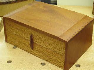 A stylish Alan Peters/David Barron box.