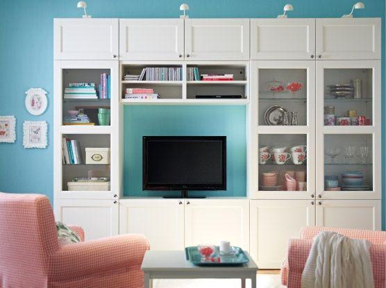 album 1 photos catalogues ikea banc tv besta billy hemnes liatorp t l vision. Black Bedroom Furniture Sets. Home Design Ideas