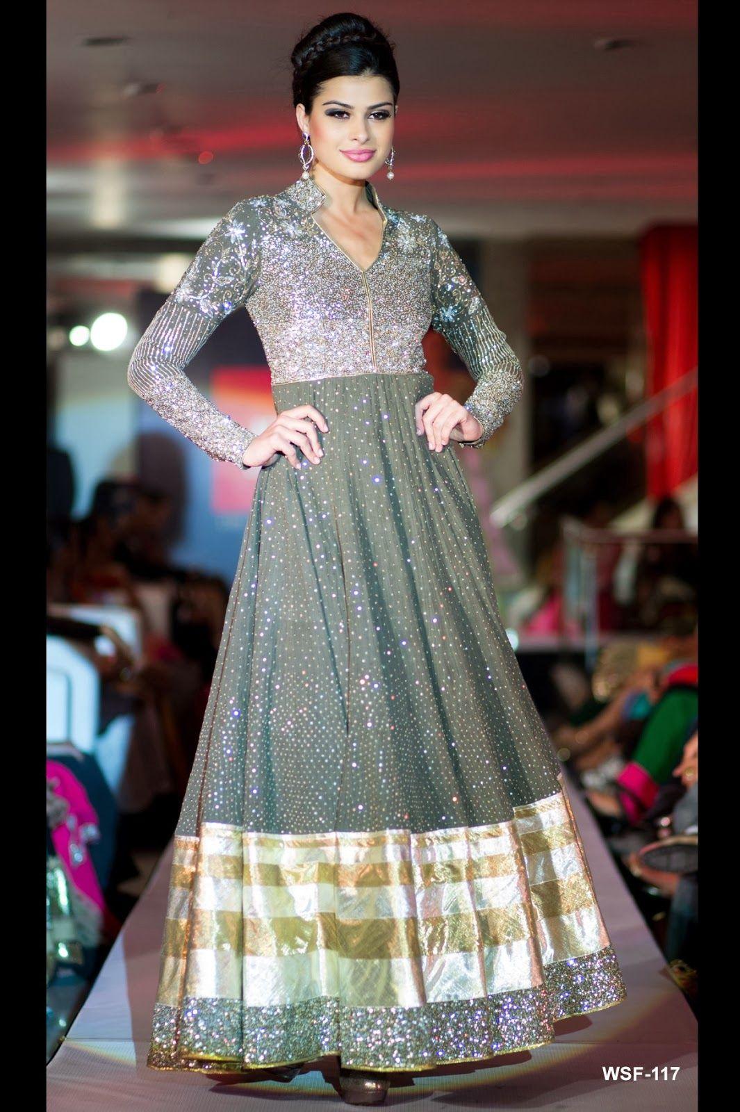 Neerus Fashion Show Collection - Earth toned #salwaar kameez