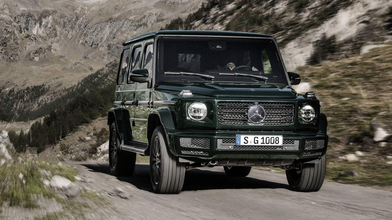 2019 Mercedes G Wagon Revealed At Detroit Benz G Class Mercedes