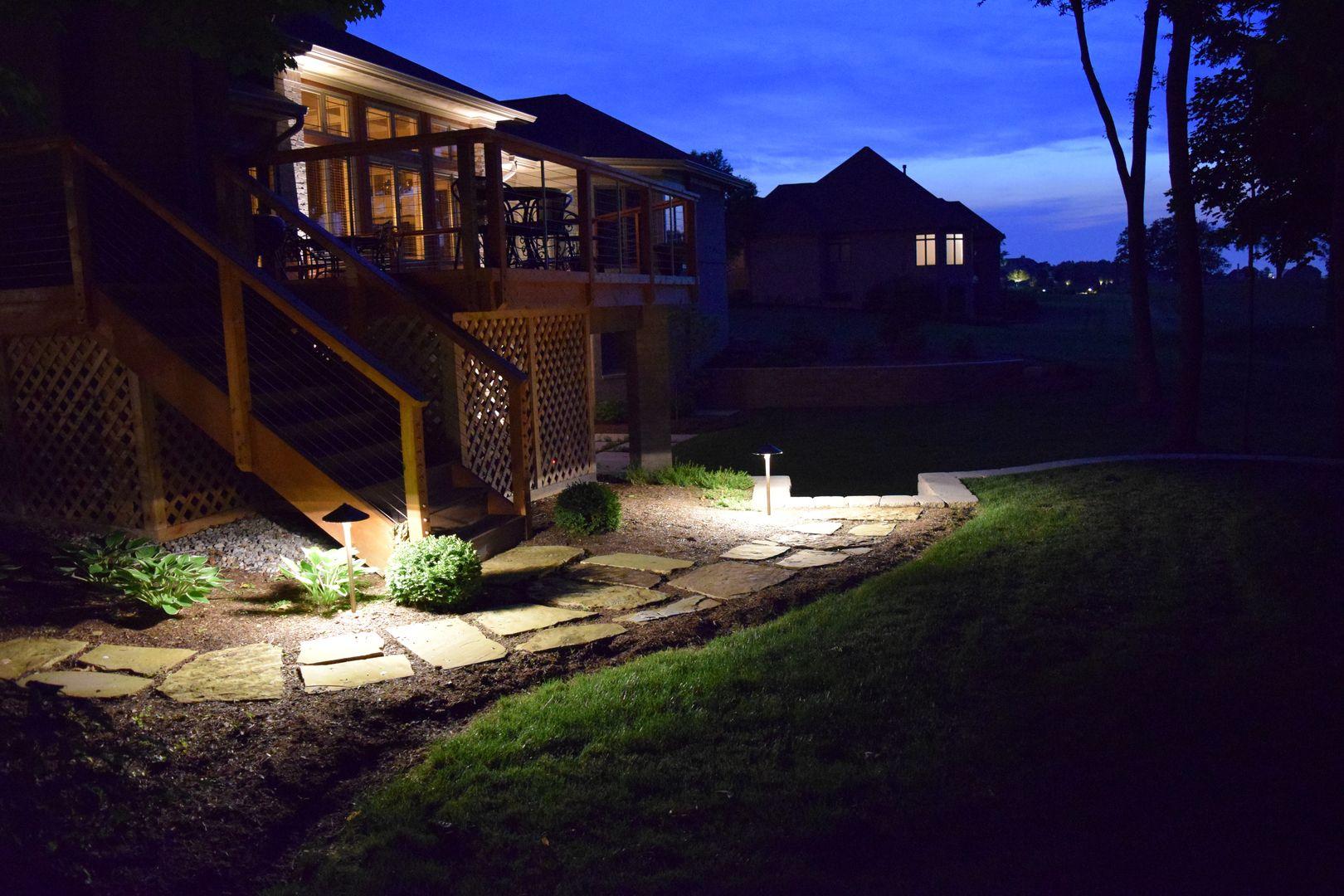 Glimmer Landscape Lighting in Indianapolis, In Landscape