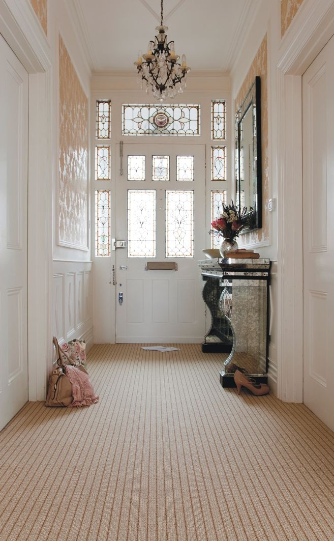 Axminster Carpets - Simply Natural Stripe - Vogue