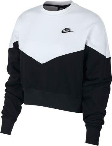 Jaqueta Infantil Nike Sportswear Moletom Capuz Feminina Preto