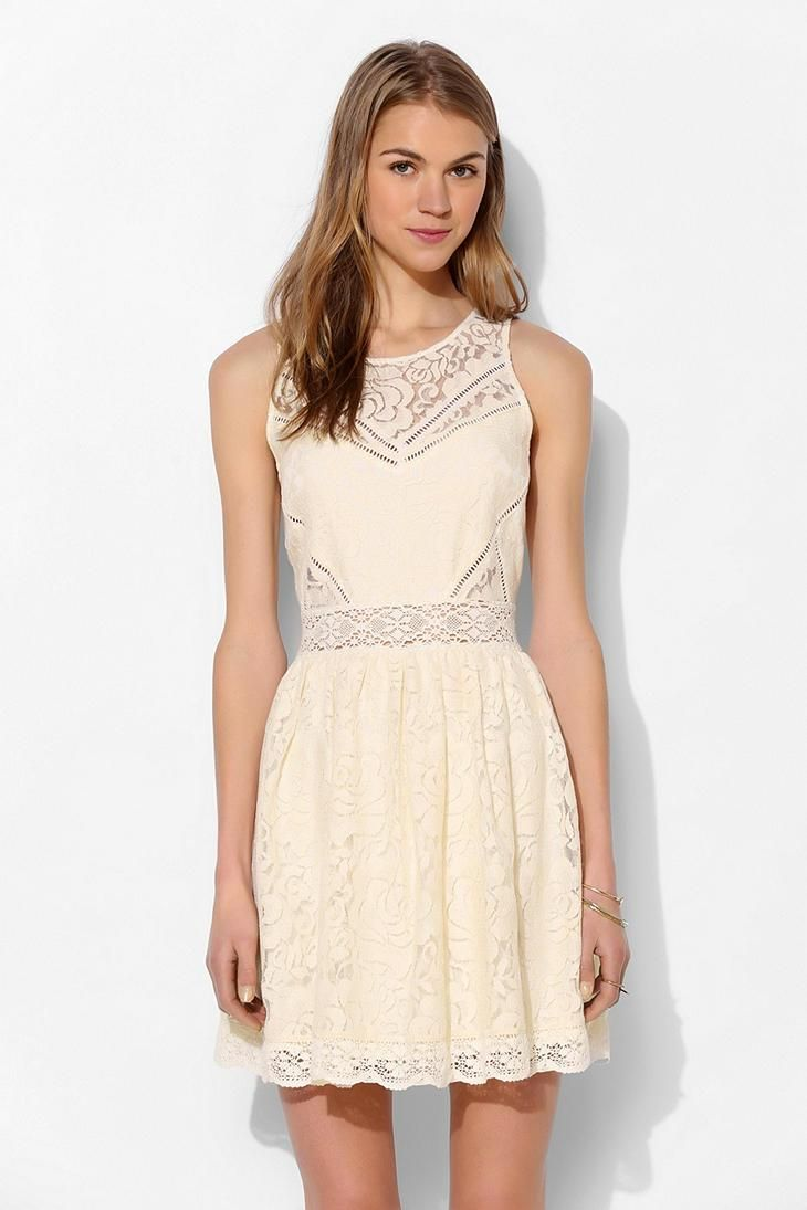 Lace dress urban outfitters