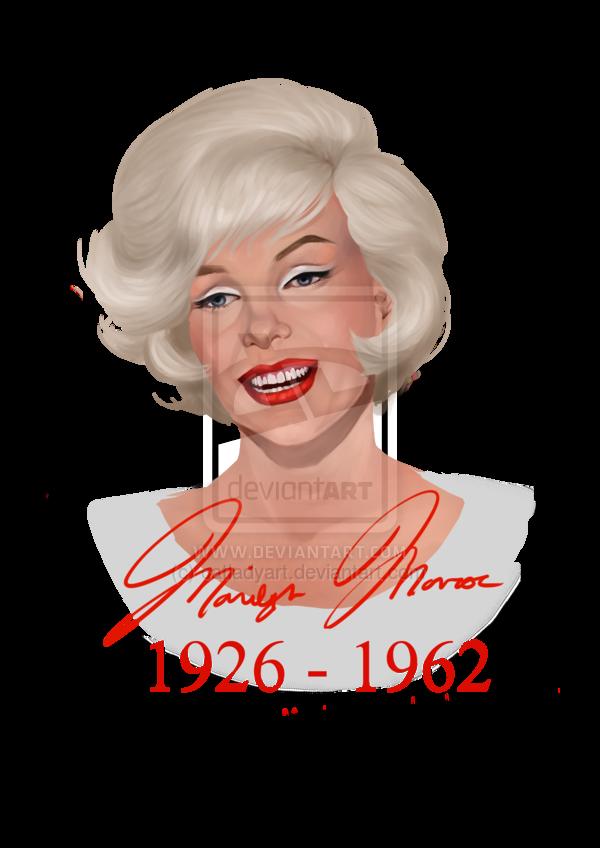 Marilyn Monroe by catladyart  | This image first pinned to Marilyn Monroe Art board, here: http://pinterest.com/fairbanksgrafix/marilyn-monroe-art/ || #Art #MarilynMonroe