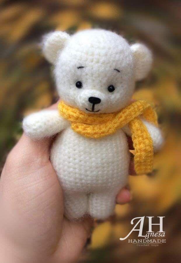 Crochet Bears #beartoy Crochet Bears Amigurumi Sweet Dog Free Patte - Salvabrani #bearplushtoy