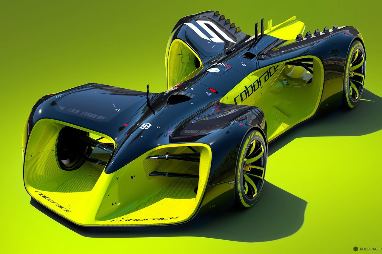 These Are The Crazy Futuristic Cars Of Roborace, The Worldu0027s First  Driverless Racing Series