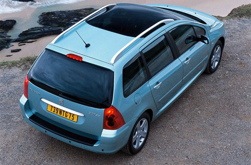 Peugeot 307 Sw Peugeot Car Vehicles