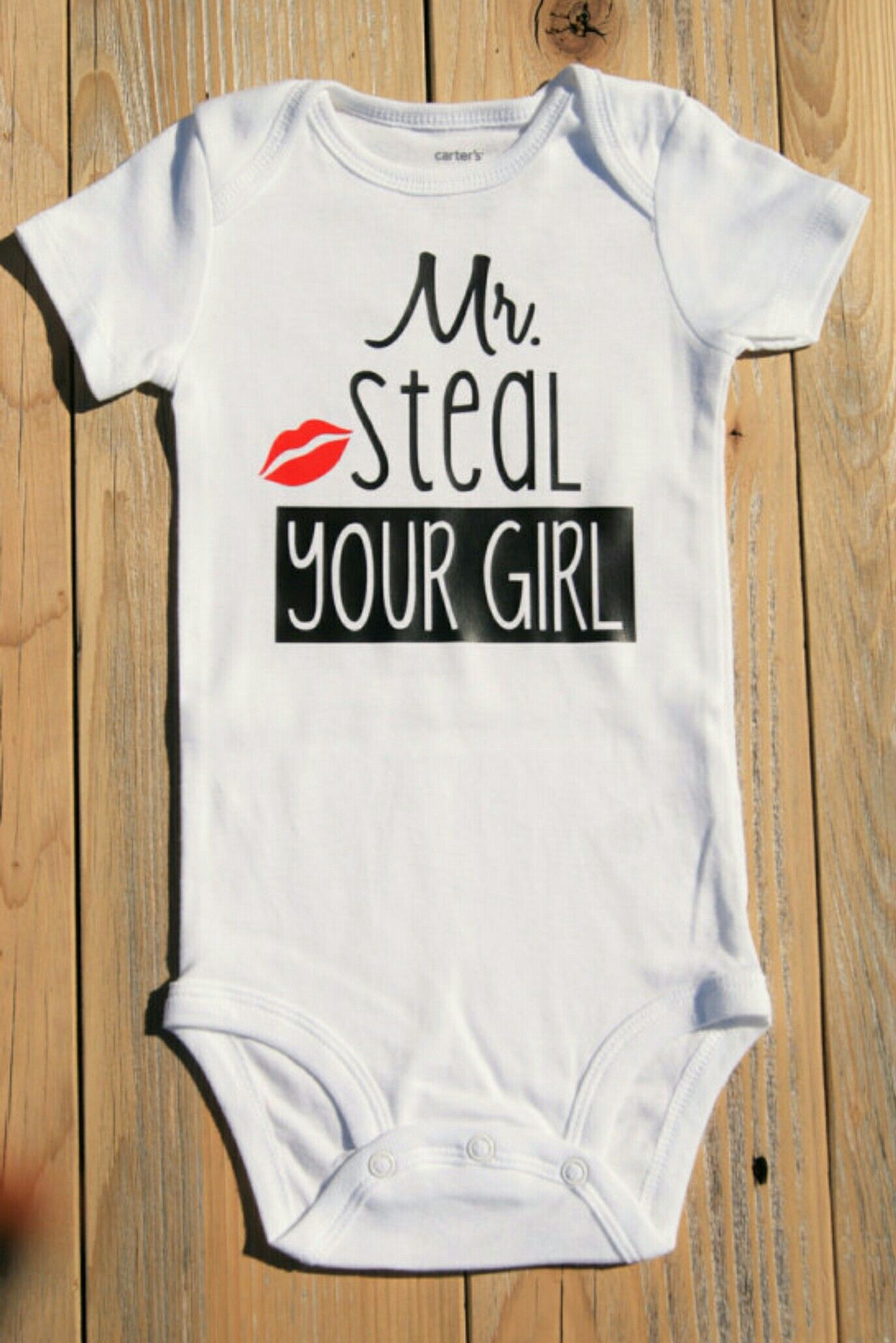 7859abbf3 Mr. Steal your girl! - Baby Boy Onesie - Funny Baby Onesie - Baby ...