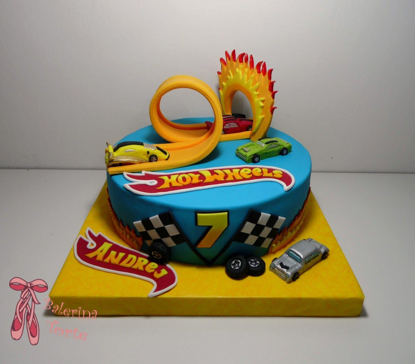 Awe Inspiring Hotwheels Cake Hotwheels Torta By Balerina Jagodina With Images Funny Birthday Cards Online Alyptdamsfinfo
