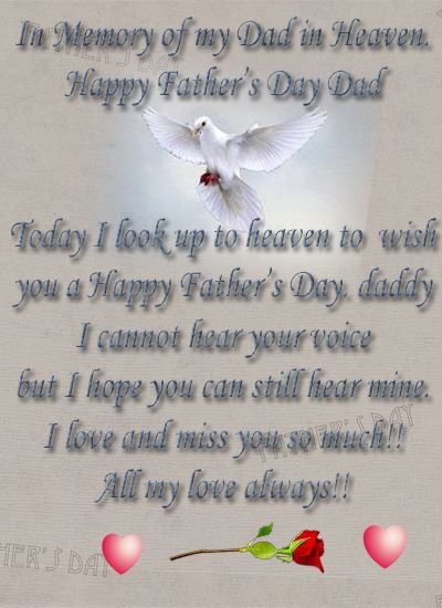 Happy Father's Day – To All the Dads And Dads in Heaven ...