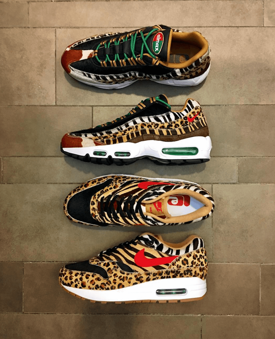 1e7e385988 The Atmos x Nike Air Max Animal Pack 2.0 Release Date | Nike Air Max ...