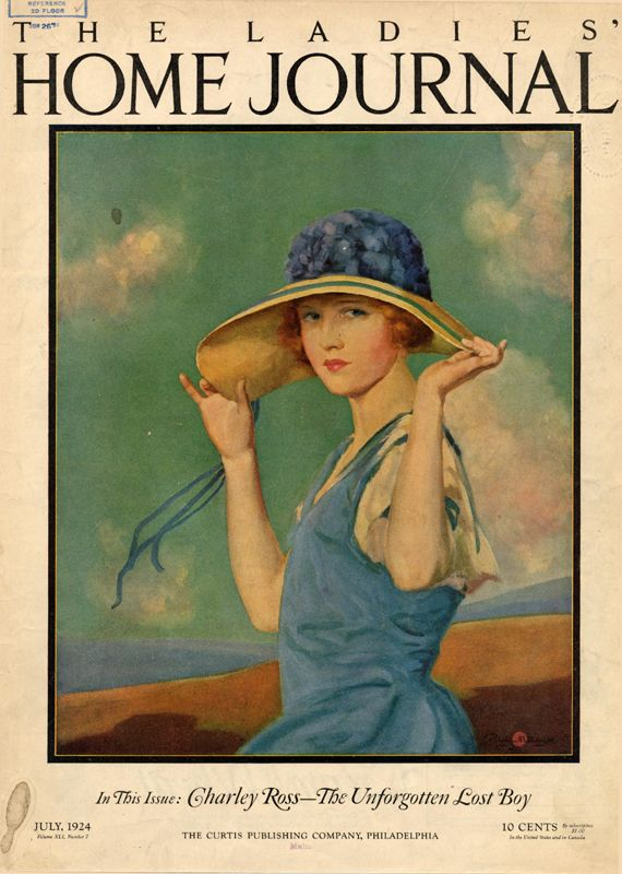 Ladies Home Journal Joseph Bowler Beautiful 19 Teens Art Vintage Illustration Magazine Illustration Vintage Magazine