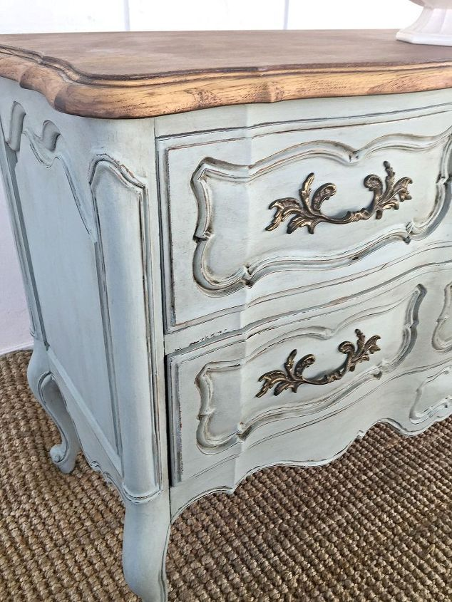French Provincial Buffet Painted French Provincial