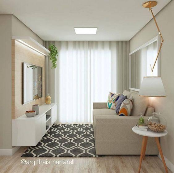 Photo of Como Decorar uma Sala Pequena e Simples | Blog di Projetos Criativos #comodecoraru …