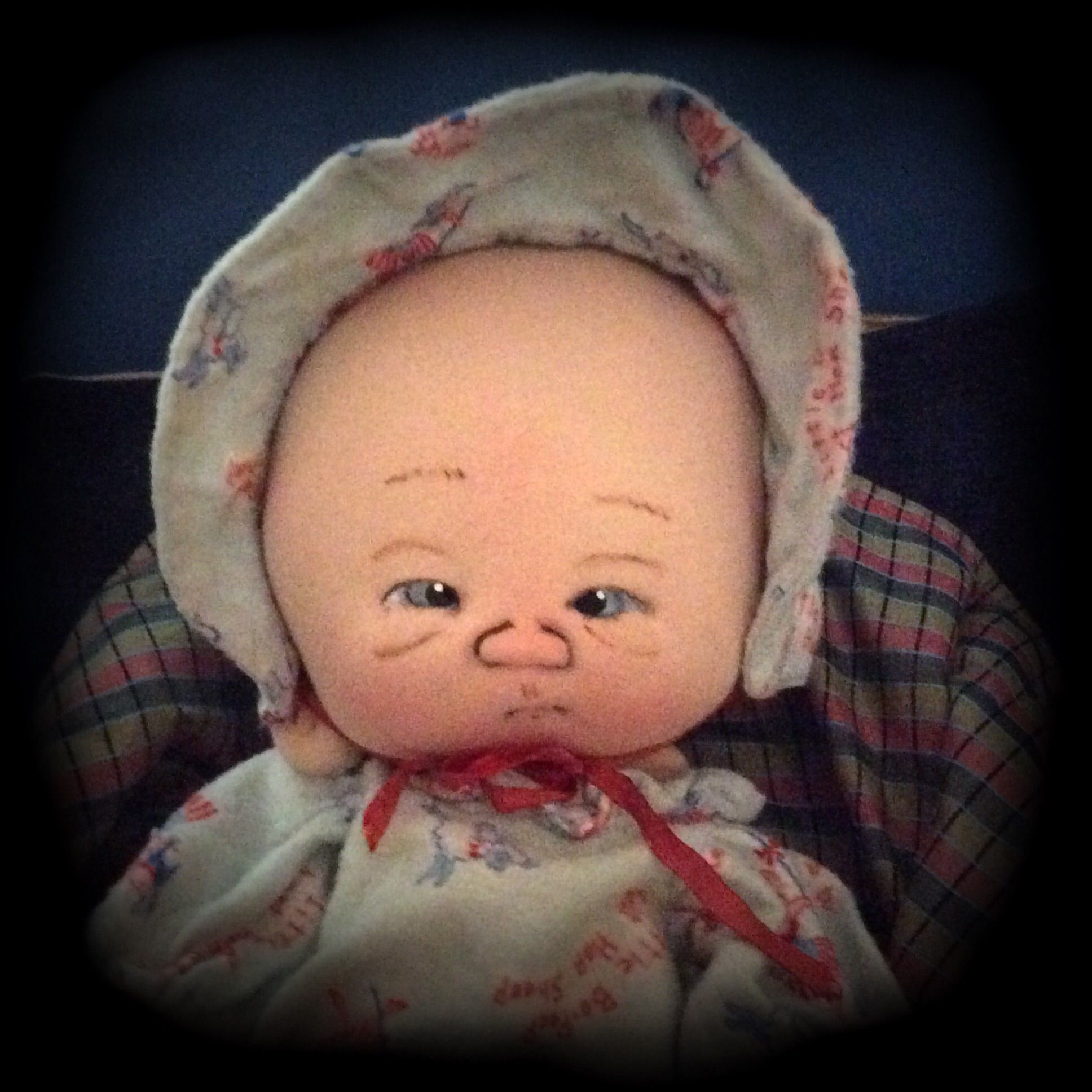 Preemie Little Bo Peep one of a kind by doll artist  Jan Shackelford