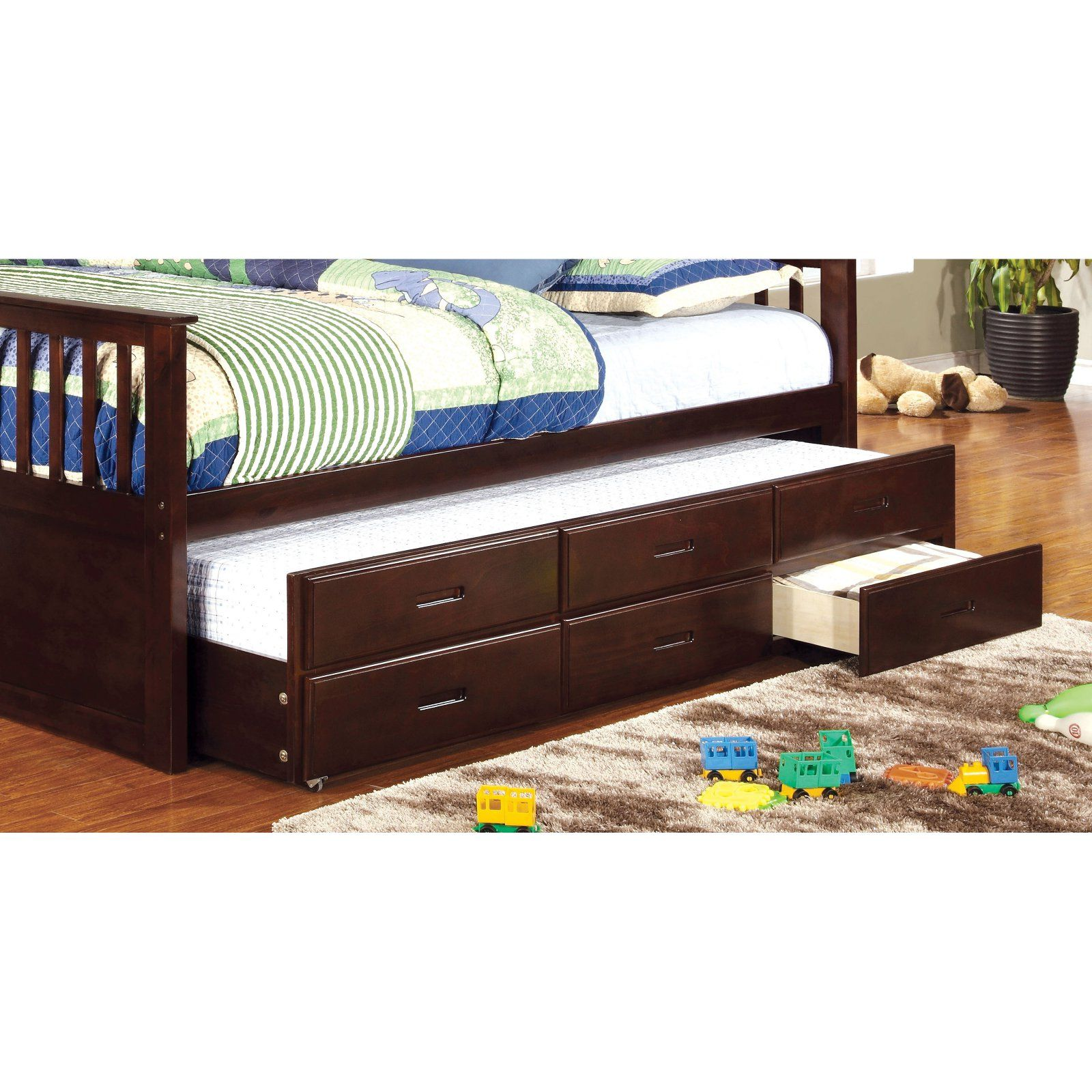 Williams Twin Xl Trundle With Drawers Daybed With Storage