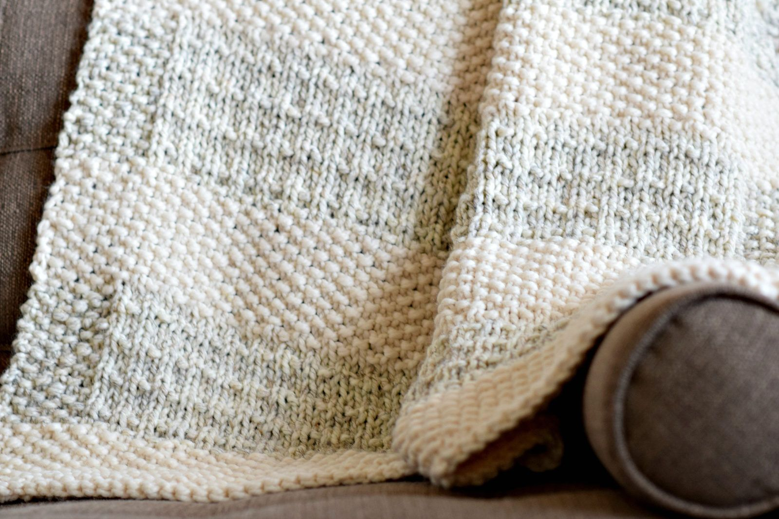 Easy Heirloom Knit Blanket Pattern | Knitting Patterns | Pinterest ...