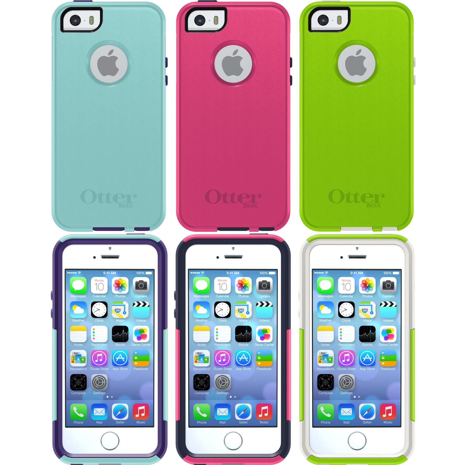 finest selection 4948c eec28 $12.99 - Otterbox Commuter Series Drop Protection Iphone 5 5S Se ...