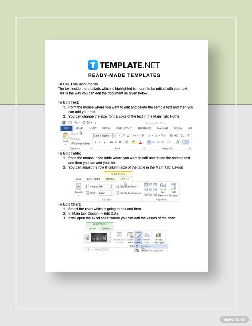 Business Analysis Proposal Marketing Plan Template Proposal