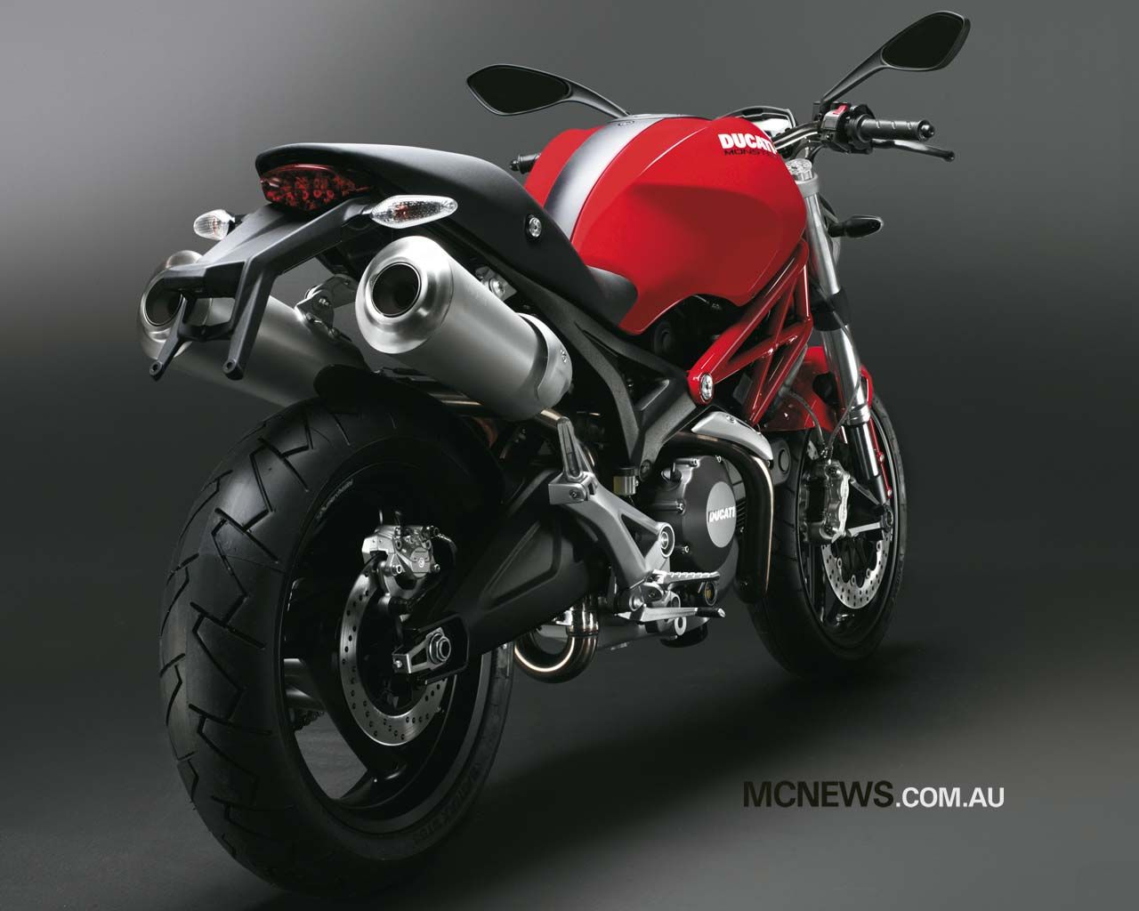 Ducati Monster Wallpaper Wide HD