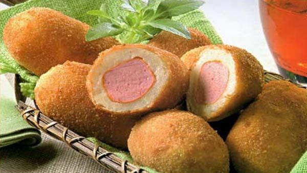 Croquetas Rellenas con Salchichas ← Recetas de Cocina – Ricas ...