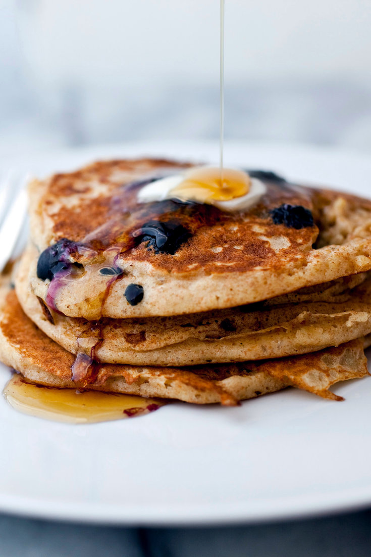Oatmeal Buttermilk Blueberry Pancakes Recipe Recipe In 2020 Buttermilk Pancakes Blueberry Buttermilk Pancakes Pancake Recipe Buttermilk