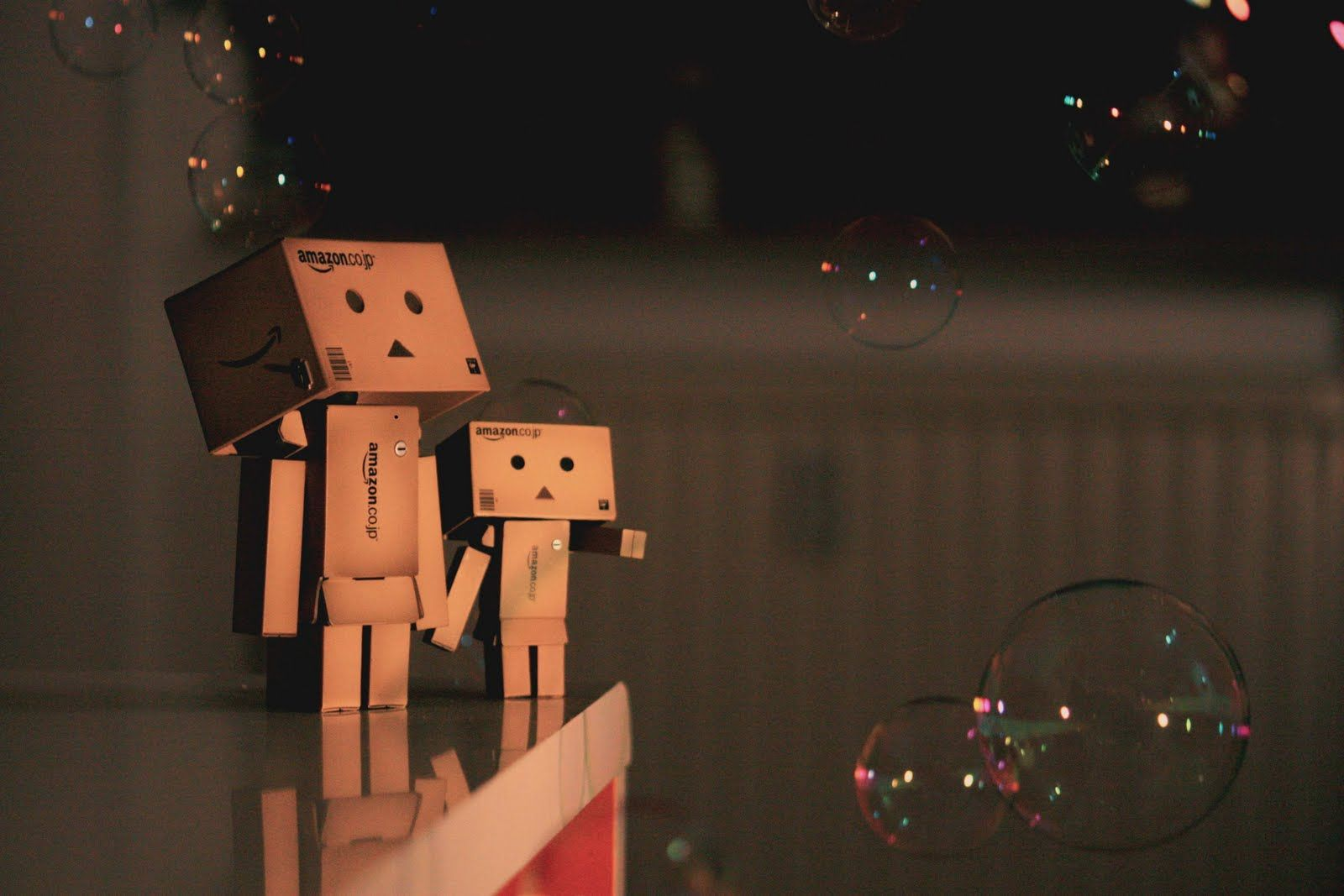 Box People Photographyworld Danbo Wallpaper Family Box