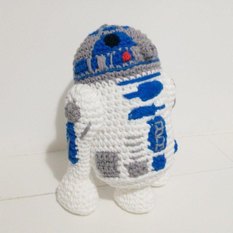 Mini R2D2 Pattern | Mia\'s Atelier | Crochet | Pinterest | Häkeln ...