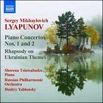 Conciertos para piano núms. 1 y 2. Rapsodia sobre temas ucranianos